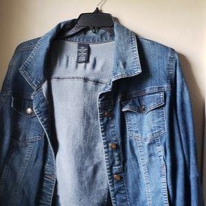 Faded Glory crop denim jacket